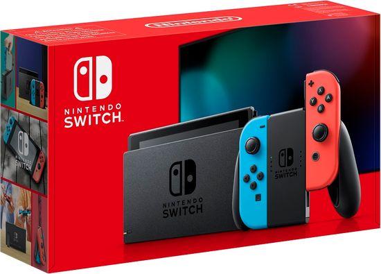 Nintendo Switch igralna konzola, rdeča/modra