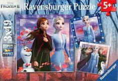 Ravensburger puzzle 050116 Disney Kraina Lodu 2 3 x 49 elementów