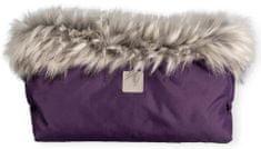 BEZTROSKA mufka do wózka 45 × 25 cm fioletowa