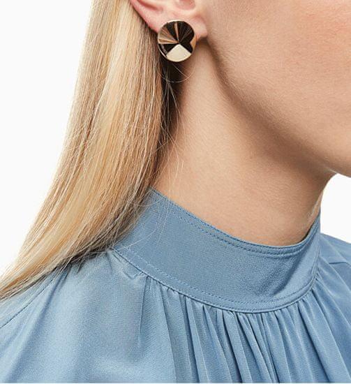 Calvin Klein Aranyozott acél fülbevalók Spinner KJBAJE100200