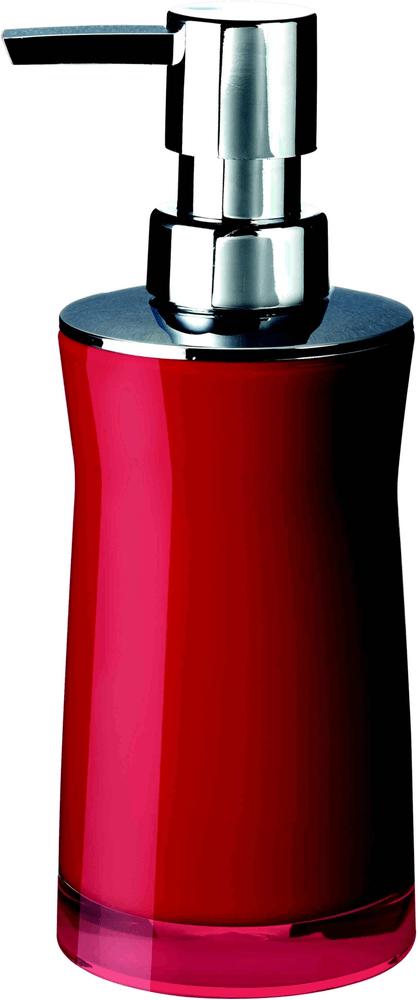 GRUND Dávkovač mýdla, SPIRIT dávkovač mýdla, červená