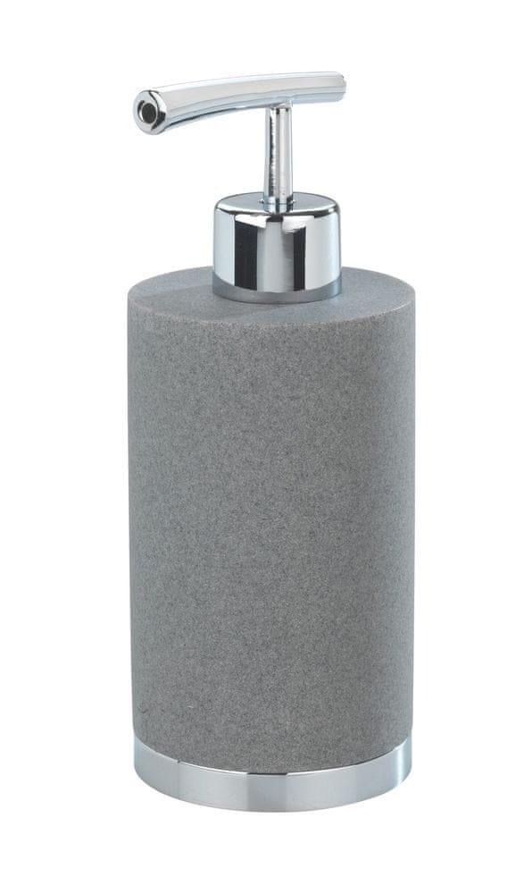 Wenko Dávkovač mýdla, CASONE dávkovač mýdla, šedá