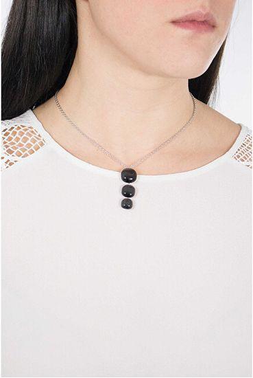 Morellato Gyengéd nyaklánc macskaszem kővel SAKK19(nyaklánc, medál) ezüst 925/1000