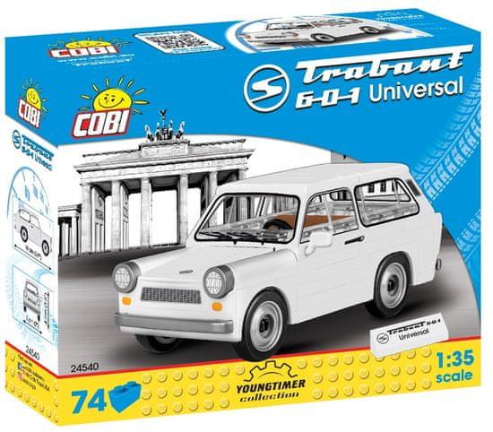 Cobi 24540 Youngtimer Trabant 601 Kombi, 1:35