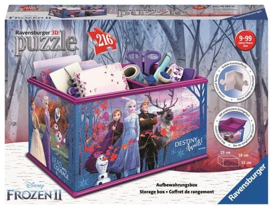 Ravensburger 3D Puzzle 121229 Pudełko Disney Kraina Lodu 2 216 elementów