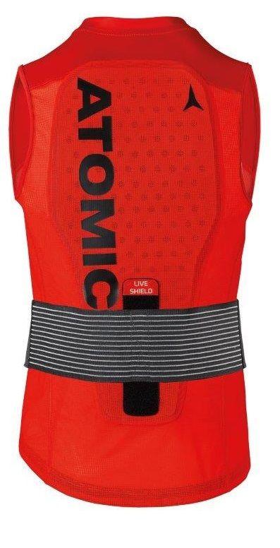 Atomic Live Shield Vest M Red M
