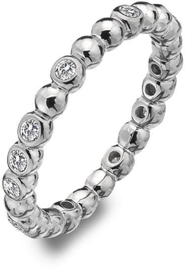 Hot Diamonds Svetleč srebrni prstan Emozioni ER024 srebro 925/1000