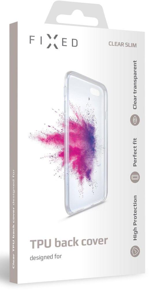 FIXED TPU gelové pouzdro pro Huawei Y9 Prime (2019), čiré (FIXTCC-439)