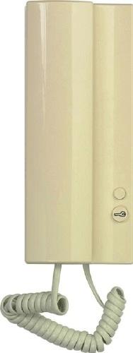 Tesla 4FP21101.915 Tesla - Elegant Domácí telefon s bzučákem slonová kost 4+n