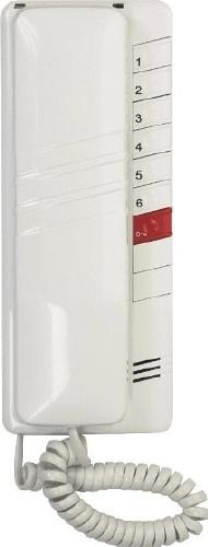 Tesla 4FP11083.201 Tesla - DT 93 DDS - domácí telefon 2-BUS bílý