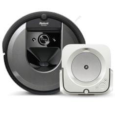IROBOT set Roomba i7 a Braava jet m6