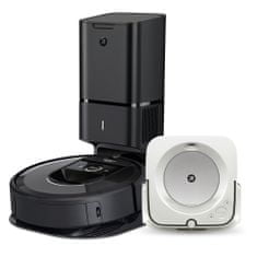 IROBOT set Roomba i7+ a Braava jet m6