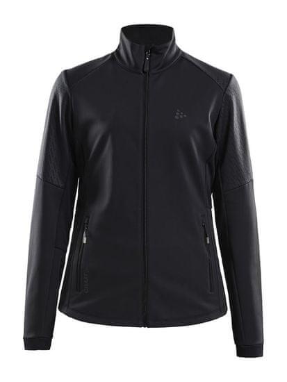 Craft Warm Train JKT W Black/Transp ženska jakna