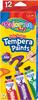 Colorino Barvy temperové 12 barev 12 ml v tubě