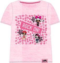 Cerda Dětské tričko L.O.L. Surprise Rock růžové Velikost: 104/111 (4-5 let)