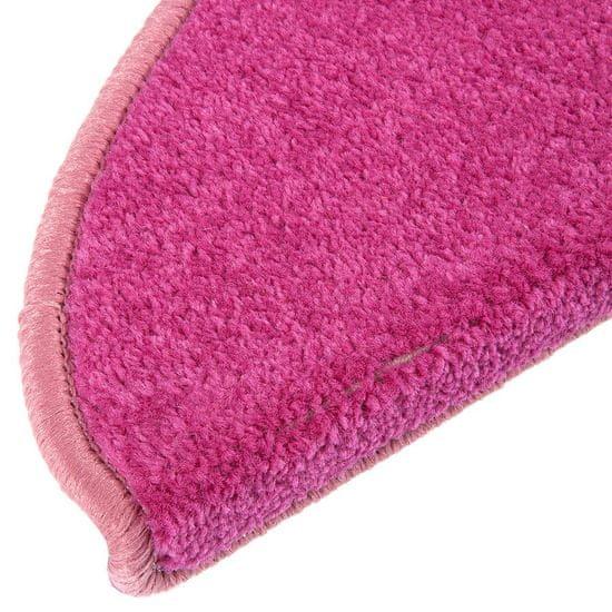 Vopi Nášlapy na schody rúžový Eton púlkruh