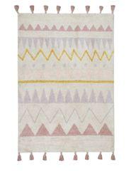 Lorena Canals Bio koberec kusový, ručne tkaný Azteca Natural-Vintage Nude 140x200