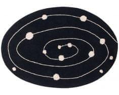 Lorena Canals Bio koberec kusový, ručne tkaný Milky Way 140x200