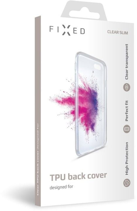 FIXED TPU gelové pouzdro pro Xiaomi Mi 9T/ Mi 9T Pro, čiré, FIXTCC-432
