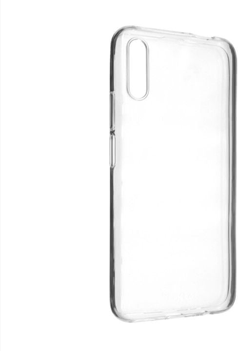 FIXED TPU gelové pouzdro pro Honor 9X, čiré, FIXTCC-437