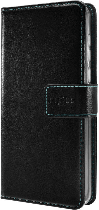 FIXED Pouzdro typu kniha Opus Huawei P20 Lite (2019) černé, FIXOP-416-BK