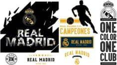Imagicom Samolepka na zeď Logo FC Real Madrid 90x120 cm