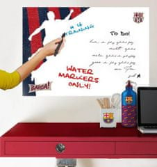 Imagicom Samolepka na zeď tabule FC Barcelona III 50x70 cm