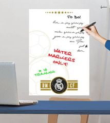 Imagicom Samolepka na zeď tabule FC Real Madrid III 50x70 cm