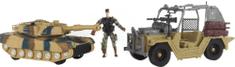 Lamps zestaw Wojsko - czołg na baterie