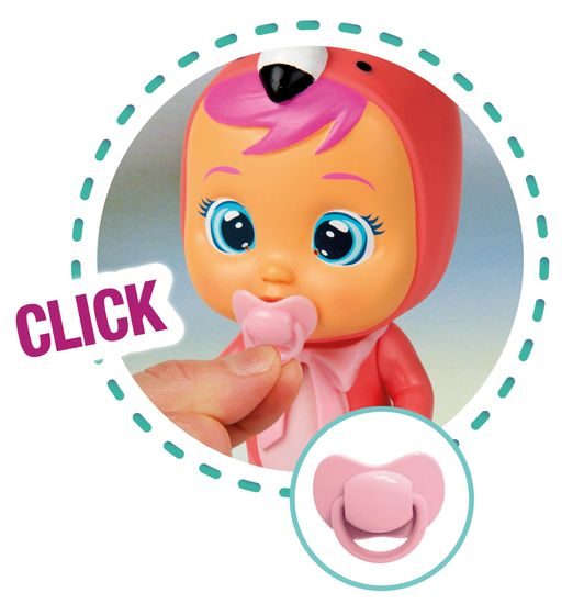 Cry Babies lalka Cry Babies Magic Tears zestaw z wózkiem
