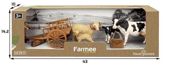 FARMEE Farma Hospodářská zvířáta hrací sada
