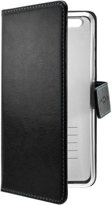 FIXED Pouzdro typu kniha Opus pro Huawei Y9 Prime (2019), černé, FIXOP-439-BK