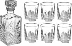 Bormioli Rocco Whisky set s karafou Selecta 7 ks