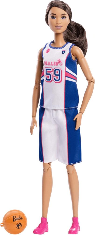 Mattel Barbie V pohybu - basketbalistka