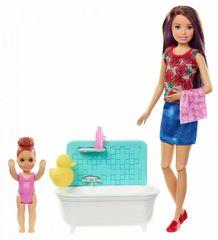 Mattel Barbie varuška igralni komplet – kopanje
