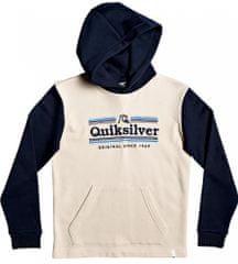 Quiksilver chlapecká mikina Dove sealers hood youth 152 béžová