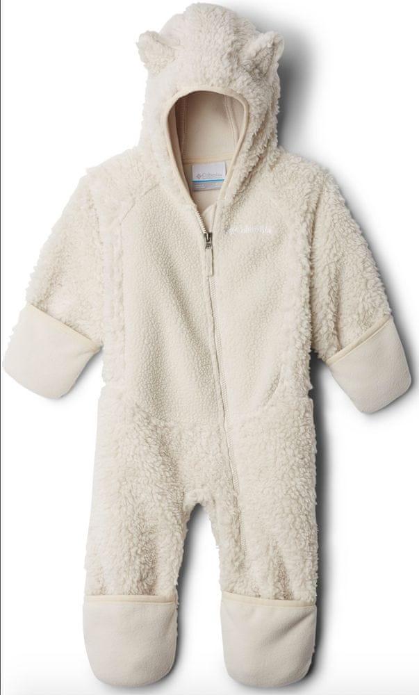 Columbia dětská kombinéza Foxy Baby Sherpa Bunting 86 béžová