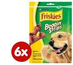 Friskies Beggin Strips jutalomfalat, 6 x 120 g