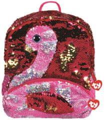 TY ruksak Fashion Sequins large s blještavim završetkom Gilda - flamingo
