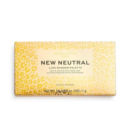Revolution PRO New Neutral 18-árnyalatú szemhéjfesték paletta (New Neutral Shadow Palette) 18 g