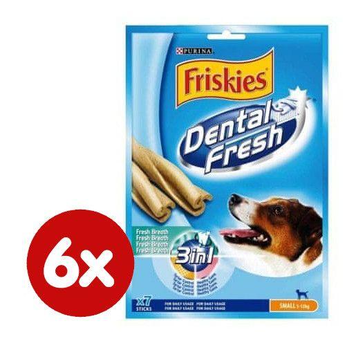 Friskies priboljški DentalFresh 3 v 1 S, 6 x 110 g