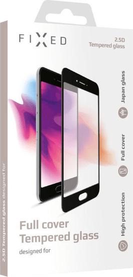 FIXED Ochranné tvrdené sklo Full-Cover pre Xiaomi Mi A3, lepenie cez celý displej, čierne FIXGFA-410-BK