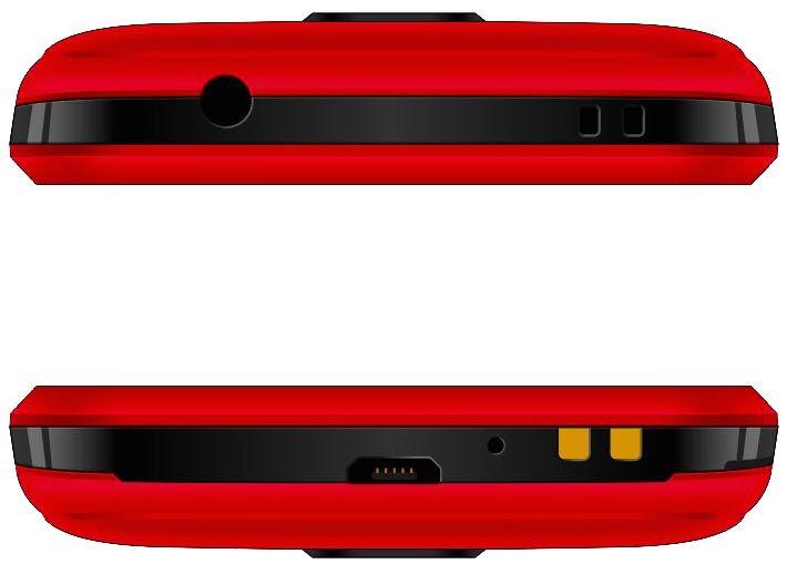 Evolveo EasyPhone AD, červený