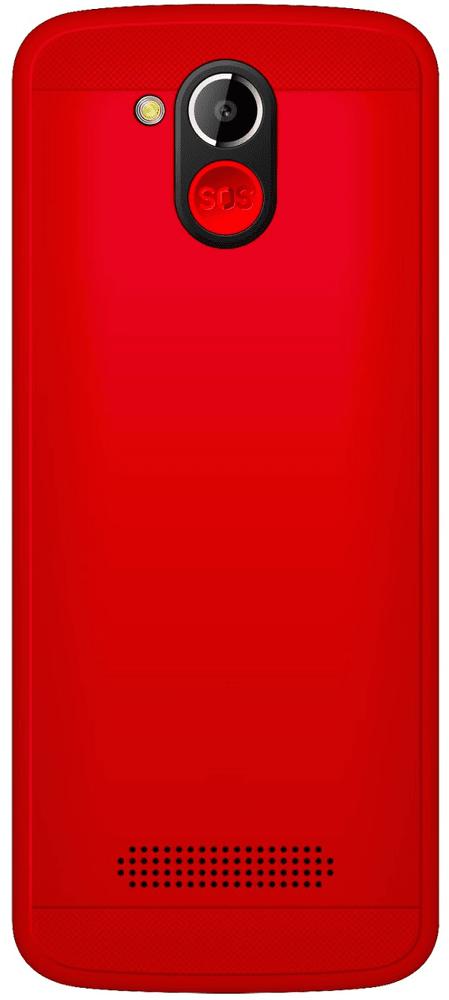 Evolveo EasyPhone AD, červený - rozbaleno