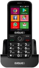 Evolveo EasyPhone AD, černý