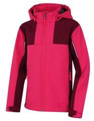 Hannah dekliška jakna Oli, roza, 116