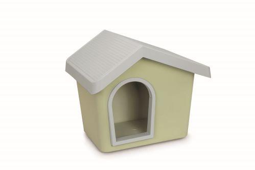 IMAC Bouda pro psa plastová, zelená 72,2x61,8x62,3 cm