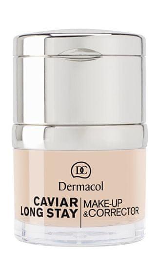 Dermacol Długotrwały podkład z korektorem z wyciągiem z kawioru (Caviar Long Stay Make-Up & Corrector) 30 m