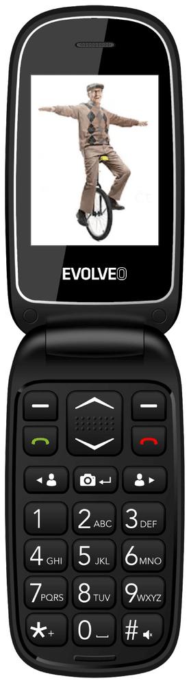 Evolveo EasyPhone FD, černý - zánovní