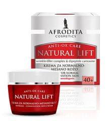 Kozmetika Afrodita Natural Lift, krema za normalnu do miješanu kožu, 50 ml